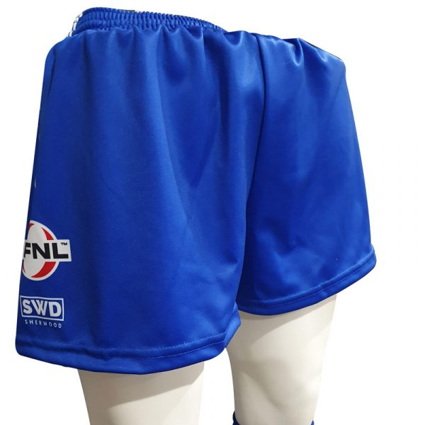 blue playing shorts hoodies ferntree gully football netball club