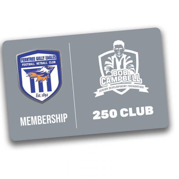 bob campbell 250 club membership