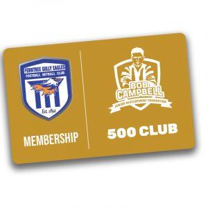 bob campbell 500 club membership