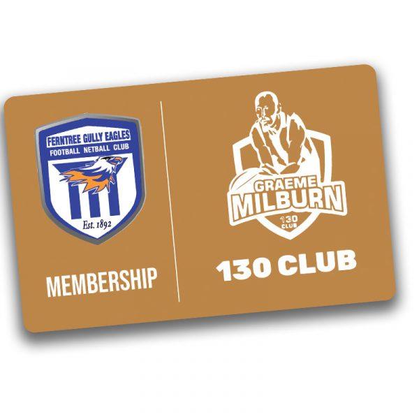 graeme milburn 130 club membership