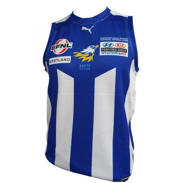 Player jersey ferntree gully football netball